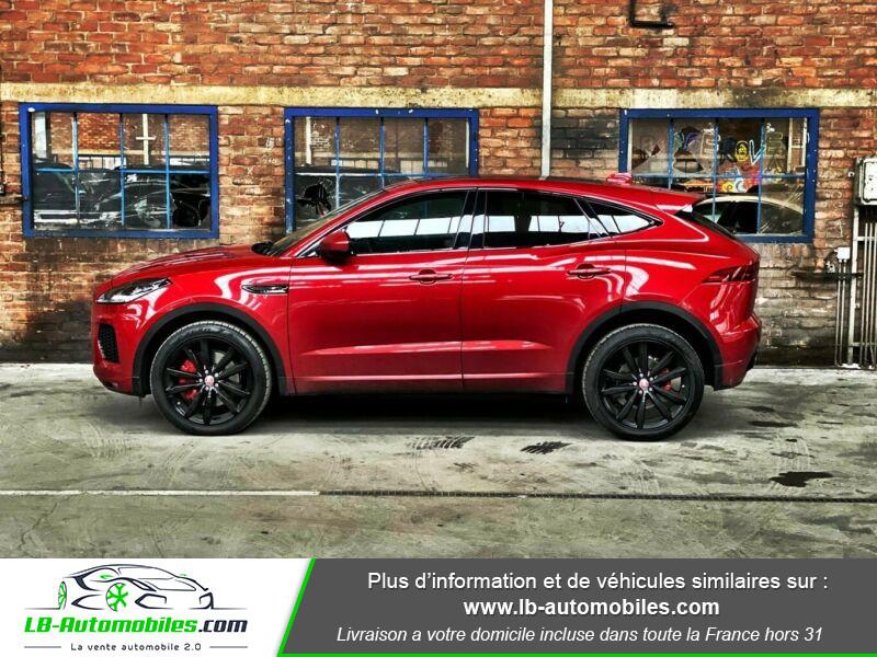 Jaguar E-pace D150 AWD Rouge occasion à Beaupuy - photo n°4