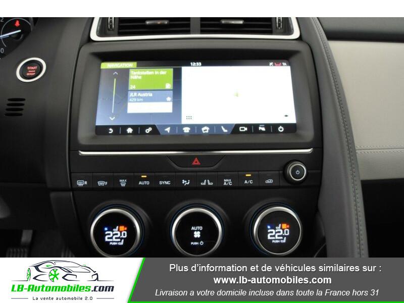 Jaguar E-pace D150 FWD Bleu occasion à Beaupuy - photo n°5