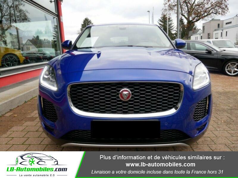 Jaguar E-pace D150 FWD Bleu occasion à Beaupuy - photo n°4