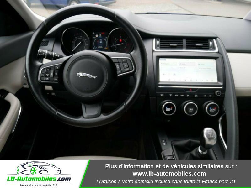 Jaguar E-pace D150 FWD Bleu occasion à Beaupuy - photo n°2