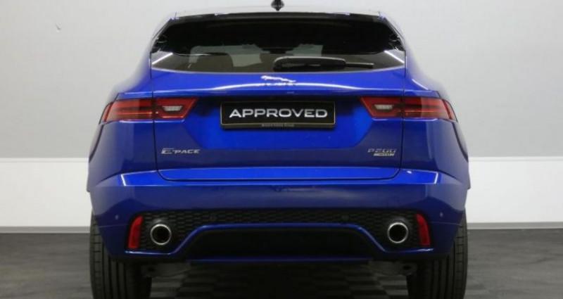 Jaguar E-pace P200 R-Dynamic S AWD Auto. Bleu occasion à Petange - photo n°5