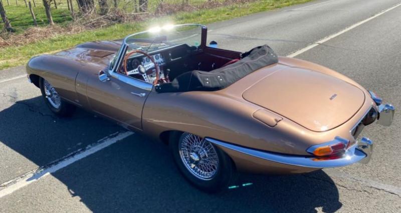 Jaguar E-Type TYPE-E 3.8 Série 1 Cabriolet 1964 Bronze occasion à Saint-saturnin - photo n°5