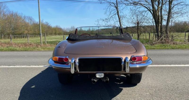 Jaguar E-Type TYPE-E 3.8 Série 1 Cabriolet 1964 Bronze occasion à Saint-saturnin - photo n°6