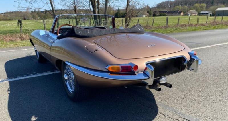 Jaguar E-Type TYPE-E 3.8 Série 1 Cabriolet 1964 Bronze occasion à Saint-saturnin - photo n°4