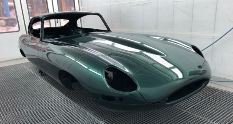 Jaguar E-Type type-E Plancher Plat 1962  occasion à Saint-saturnin