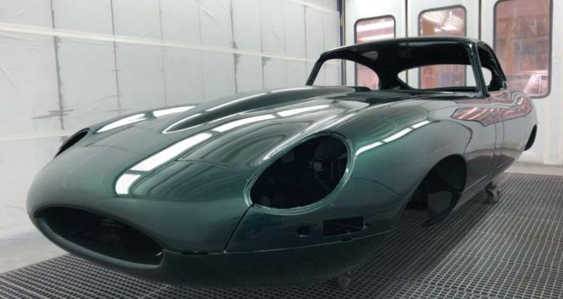 Jaguar E-Type type-E Plancher Plat 1962  occasion à Saint-saturnin - photo n°3