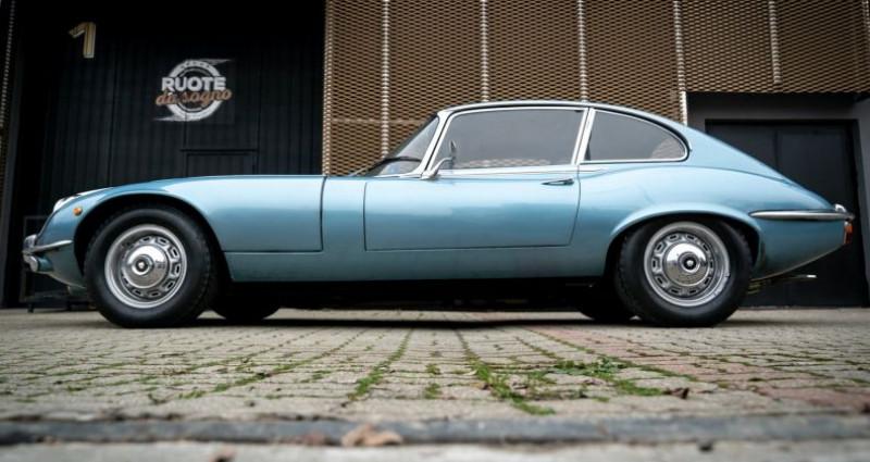 Jaguar E-Type V12 Coup Bleu occasion à Reggio Emilia