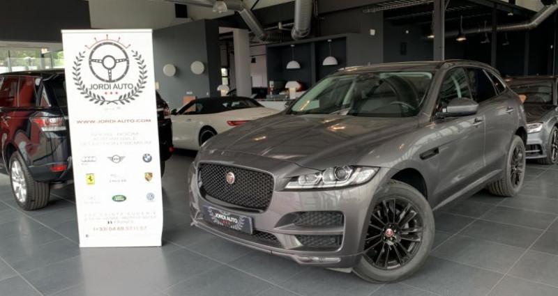 Jaguar F-Pace 2.0 D 180ch AWD Prestige Bva8 Gris occasion à LE SOLER