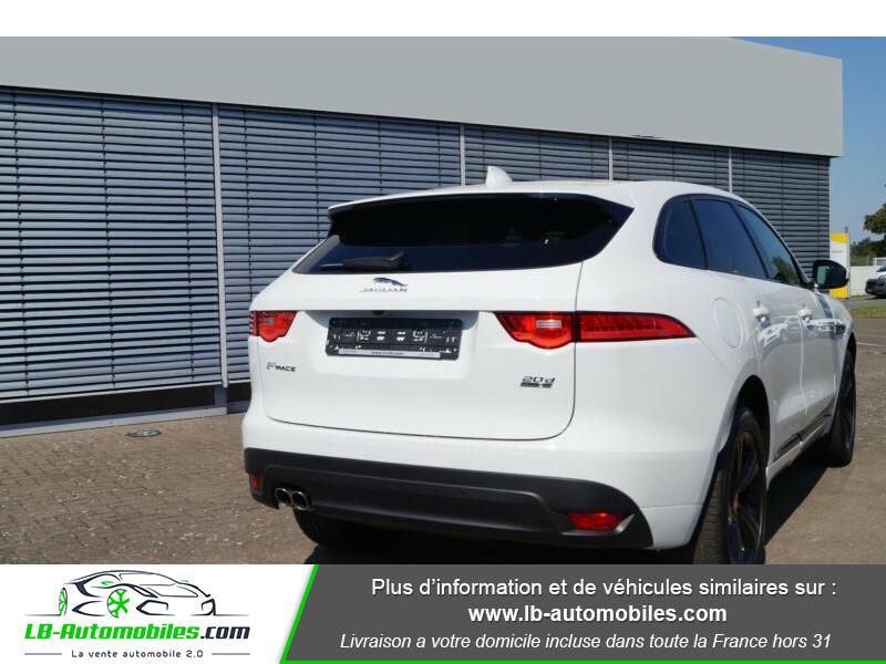 Jaguar F-Pace 2.0 D AWD 180 ch R-Sport Blanc occasion à Beaupuy - photo n°3