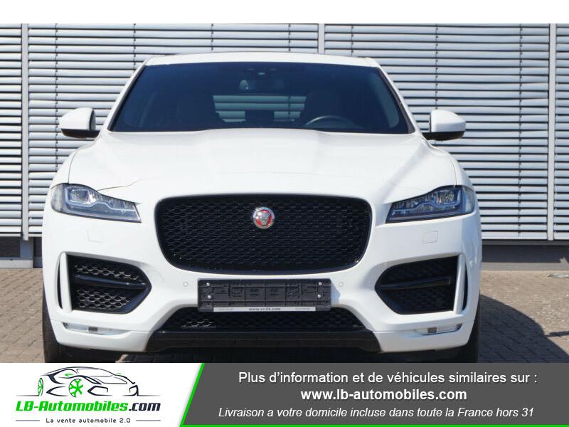 Jaguar F-Pace 2.0 D AWD 180 ch R-Sport Blanc occasion à Beaupuy - photo n°9