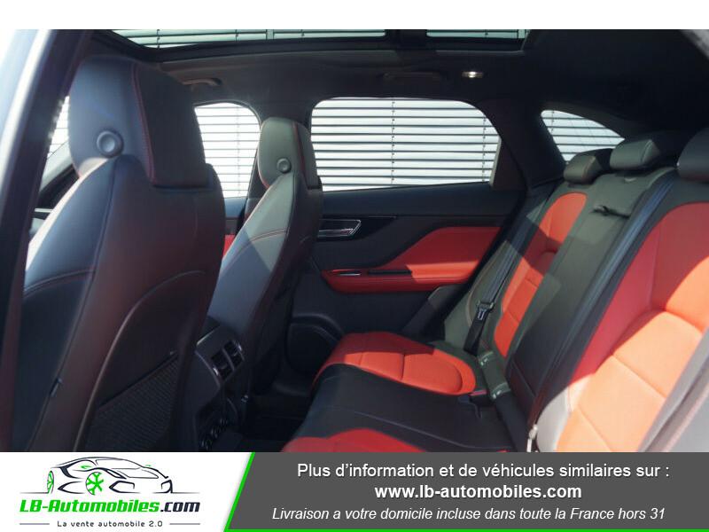 Jaguar F-Pace 2.0 D AWD 180 ch R-Sport Blanc occasion à Beaupuy - photo n°6