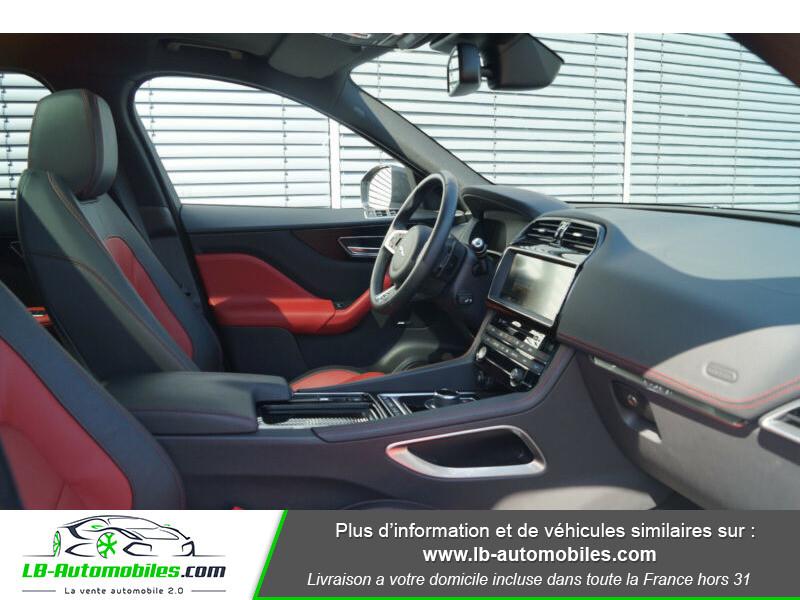 Jaguar F-Pace 2.0 D AWD 180 ch R-Sport Blanc occasion à Beaupuy - photo n°7