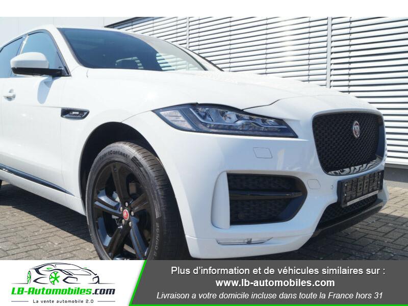 Jaguar F-Pace 2.0 D AWD 180 ch R-Sport Blanc occasion à Beaupuy - photo n°11