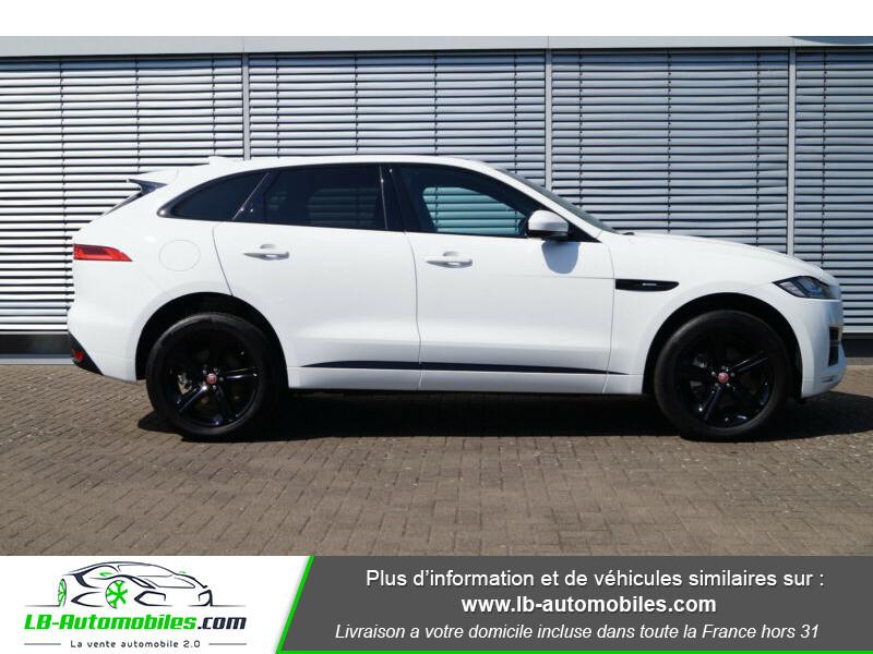 Jaguar F-Pace 2.0 D AWD 180 ch R-Sport Blanc occasion à Beaupuy - photo n°10