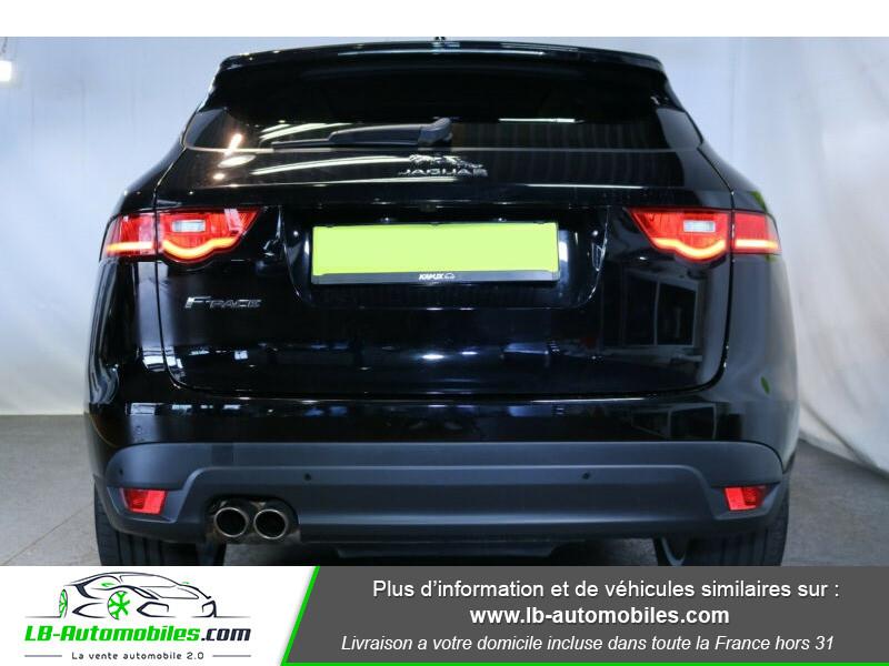 Jaguar F-Pace 2.0 D AWD 180 ch Noir occasion à Beaupuy - photo n°13