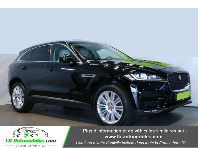 Jaguar F-Pace 2.0 D AWD 180 ch Noir occasion à Beaupuy