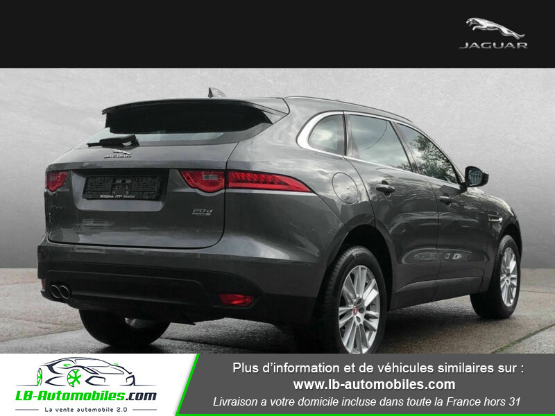 Jaguar F-Pace 2.0 D AWD 180 ch Gris occasion à Beaupuy - photo n°3