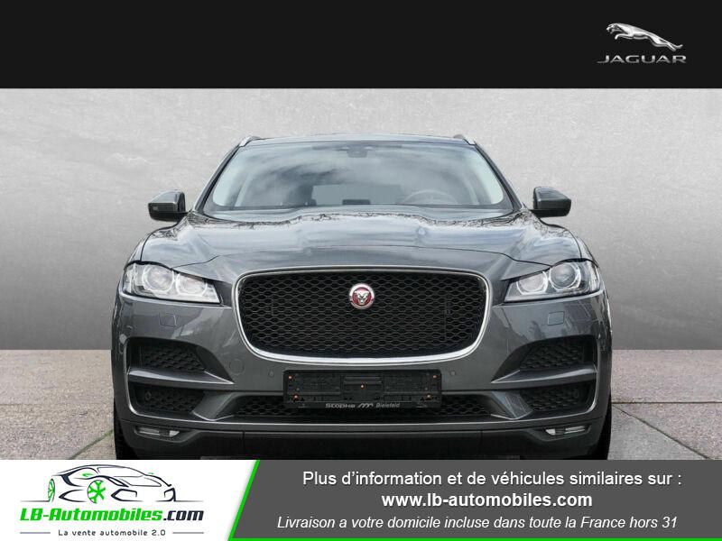 Jaguar F-Pace 2.0 D AWD 180 ch Gris occasion à Beaupuy - photo n°8