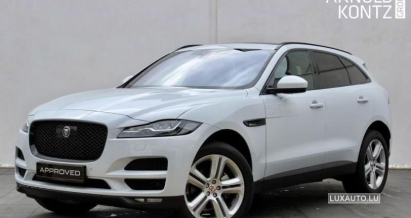Jaguar F-Pace 20d 180 Portfolio AWD Auto. Blanc occasion à Petange