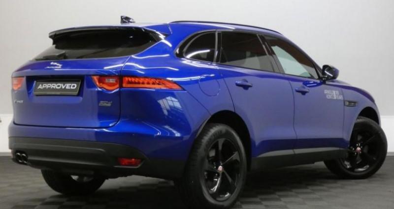 Jaguar F-Pace 20d 180 Prestige AWD Auto. Bleu occasion à Petange - photo n°4