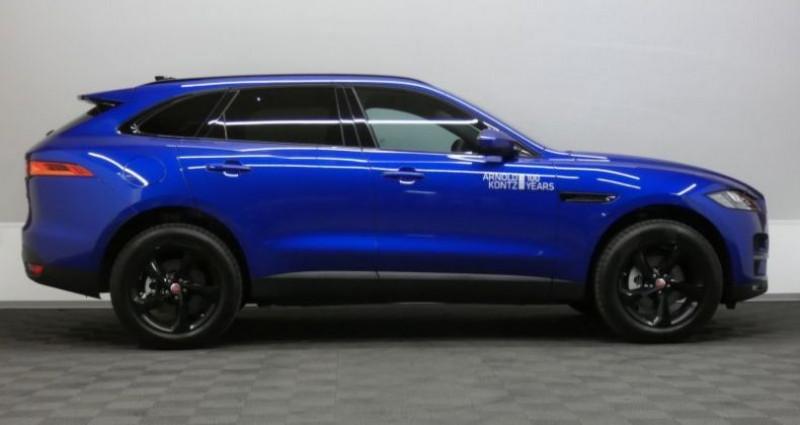 Jaguar F-Pace 20d 180 Prestige AWD Auto. Bleu occasion à Petange - photo n°3
