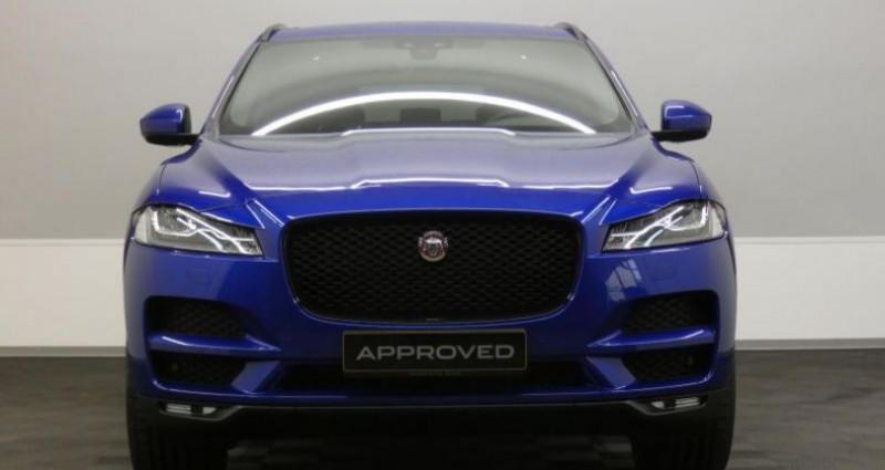 Jaguar F-Pace 20d 180 Prestige AWD Auto. Bleu occasion à Petange - photo n°2