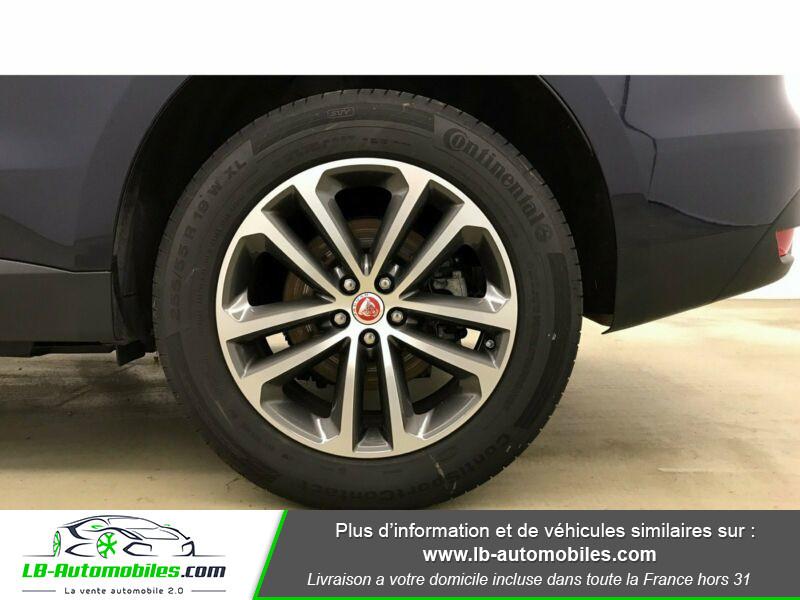 Jaguar F-Pace 3.0 D AWD 300 ch Bleu occasion à Beaupuy - photo n°8