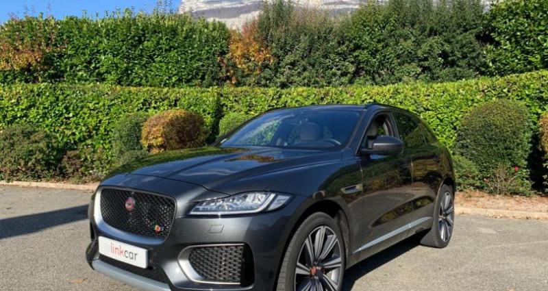 Jaguar F-Pace 3.0 D S V6 300cv Gris occasion à Meylan