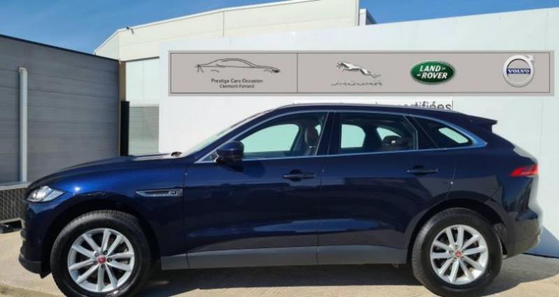Jaguar F-Pace V6 3.0D 300ch Portfolio 4x4 BVA8 Noir occasion à AUBIERE - photo n°6