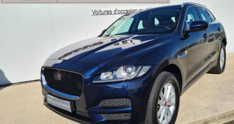 Jaguar F-Pace V6 3.0D 300ch Portfolio 4x4 BVA8 Noir occasion à AUBIERE