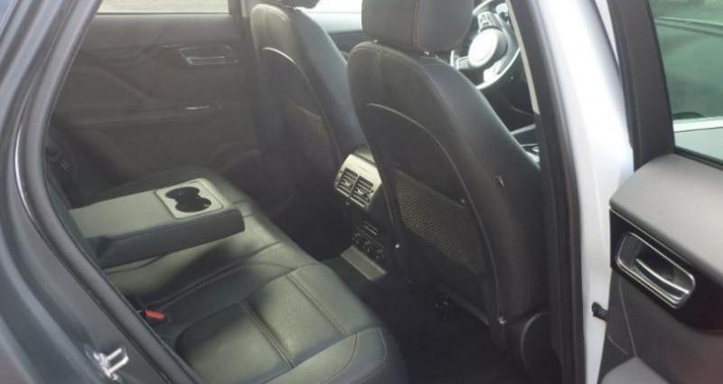 Jaguar F-Pace V6 3.0D 300ch Prestige 4x4 BVA8 Blanc occasion à Laxou - photo n°5