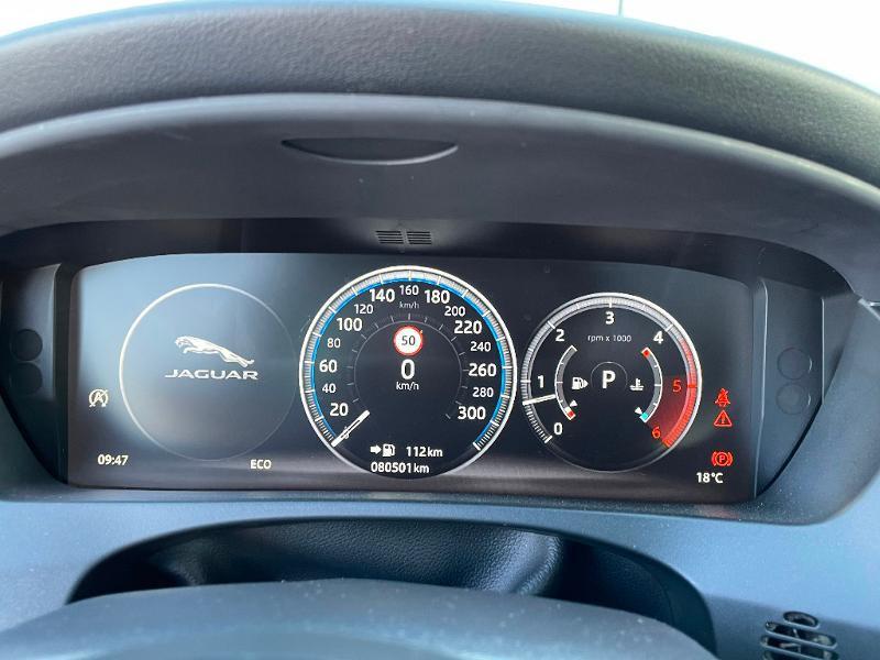 Jaguar F-Pace V6 3.0D 300ch R-Sport 4x4 BVA8 Blanc occasion à Barberey-Saint-Sulpice - photo n°13