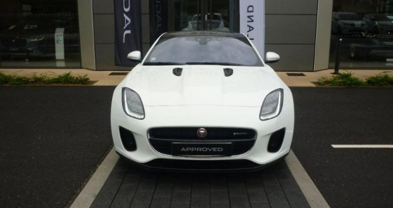 Jaguar F-Type 2.0T 300ch R-Dynamic BVA8 Blanc occasion à Laxou - photo n°6