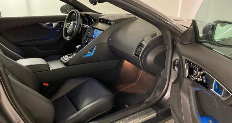 Jaguar F-Type 3.0 V6 Suralimenté 340ch R-Dynamic BVA8 Gris occasion à Nice - photo n°6