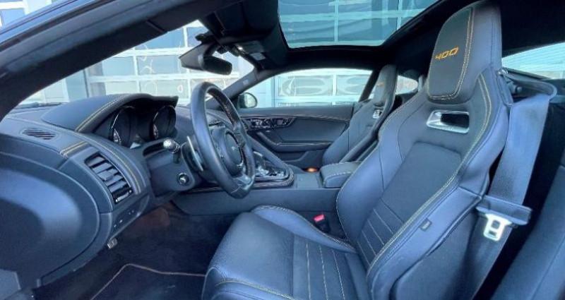Jaguar F-Type 3.0 V6 Suralimenté 400ch Sport AWD BVA8 Noir occasion à BARBEREY SAINT SULPICE - photo n°5
