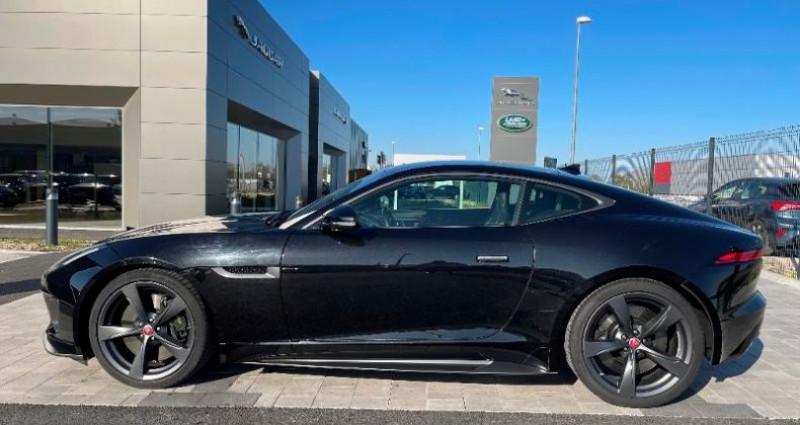 Jaguar F-Type 3.0 V6 Suralimenté 400ch Sport AWD BVA8 Noir occasion à BARBEREY SAINT SULPICE - photo n°2