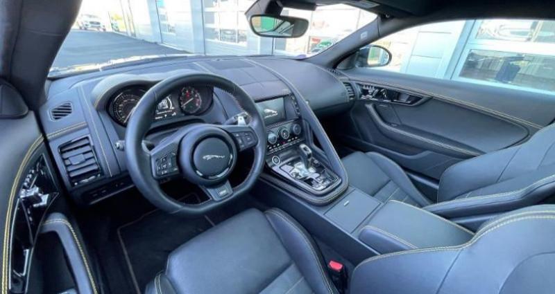 Jaguar F-Type 3.0 V6 Suralimenté 400ch Sport AWD BVA8 Noir occasion à BARBEREY SAINT SULPICE - photo n°6