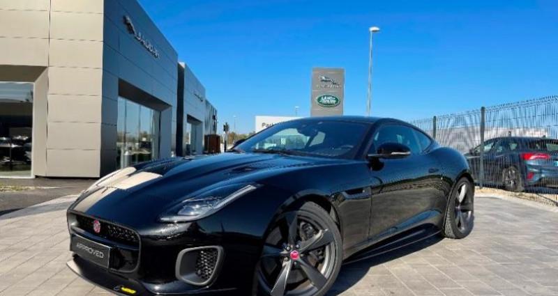 Jaguar F-Type 3.0 V6 Suralimenté 400ch Sport AWD BVA8 Noir occasion à BARBEREY SAINT SULPICE