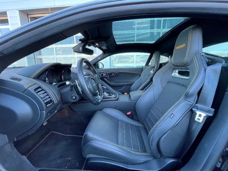Jaguar F-Type 3.0 V6 Suralimenté 400ch Sport AWD BVA8 Noir occasion à Barberey-Saint-Sulpice - photo n°5