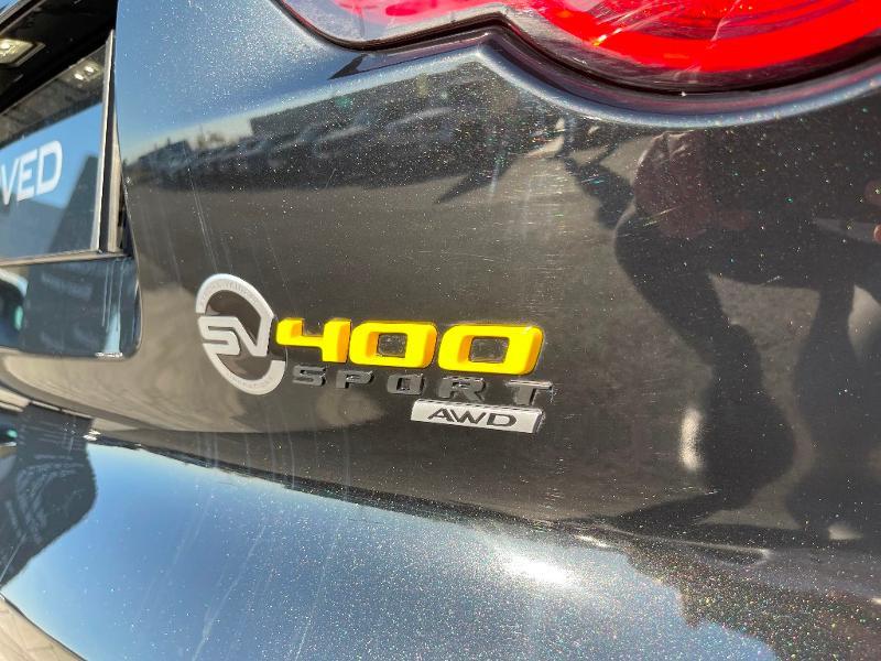 Jaguar F-Type 3.0 V6 Suralimenté 400ch Sport AWD BVA8 Noir occasion à Barberey-Saint-Sulpice - photo n°8