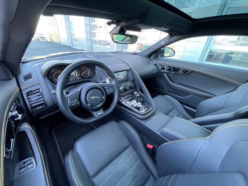 Jaguar F-Type 3.0 V6 Suralimenté 400ch Sport AWD BVA8 Noir occasion à Barberey-Saint-Sulpice - photo n°6