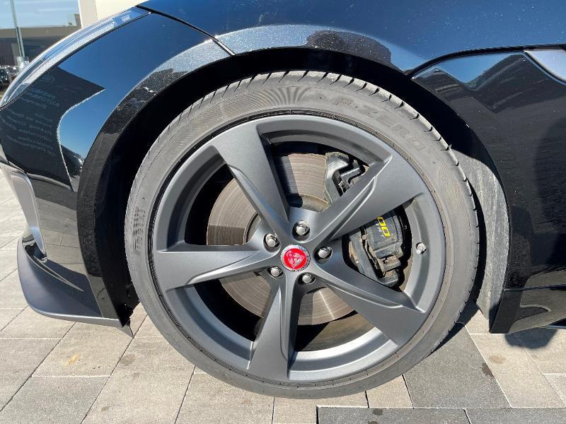 Jaguar F-Type 3.0 V6 Suralimenté 400ch Sport AWD BVA8 Noir occasion à Barberey-Saint-Sulpice - photo n°4