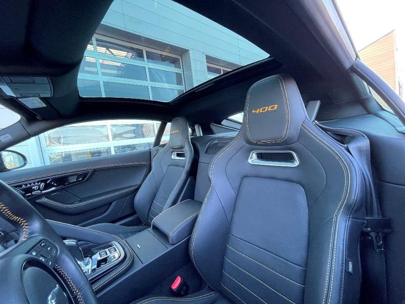 Jaguar F-Type 3.0 V6 Suralimenté 400ch Sport AWD BVA8 Noir occasion à Barberey-Saint-Sulpice - photo n°7