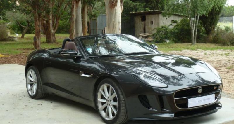 Jaguar F-Type CABRIOLET 3.0 V6 S 380 CV Gris occasion à Perpignan