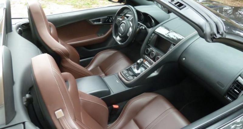 Jaguar F-Type CABRIOLET 3.0 V6 S 380 CV Gris occasion à Perpignan - photo n°4