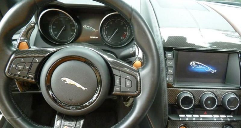 Jaguar F-Type CABRIOLET 3.0 V6 S 380 CV Gris occasion à Perpignan - photo n°7