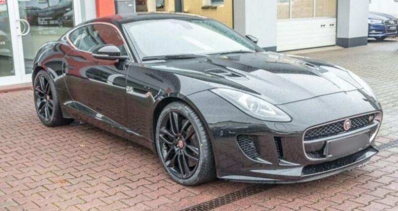 Jaguar F-Type Coupe 3.0 V6 380ch S Noir occasion à Boulogne-Billancourt - photo n°6