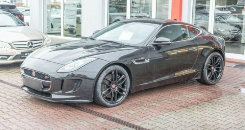 Jaguar F-Type Coupe 3.0 V6 380ch S Noir occasion à Boulogne-Billancourt