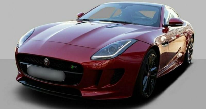 Jaguar F-Type Coupe 5.0 V8 550ch R BVA8 Rouge occasion à Boulogne-Billancourt