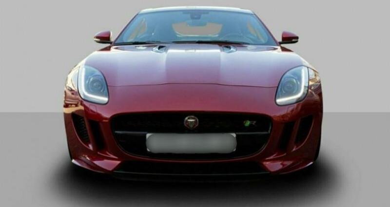 Jaguar F-Type Coupe 5.0 V8 550ch R BVA8 Rouge occasion à Boulogne-Billancourt - photo n°4